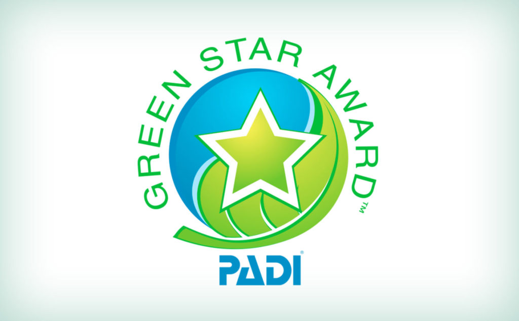 Green Star Award PADI Diving Koh Lanta. Buceo Koh Lanta. Hidden Depths Diving